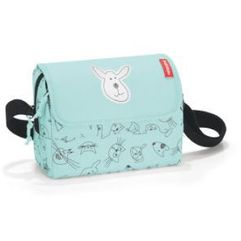 Reisenthel ® torebka na ramię everydaybag kids cats and dogs mint