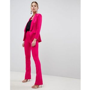 tailored trousers in scuba - pink marki Club l