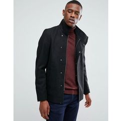 asymmetric wool overcoat - black marki Only & sons