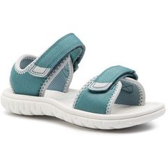 Sandały CLARKS - Surfing Tide T 261408506 Teal Synthetic