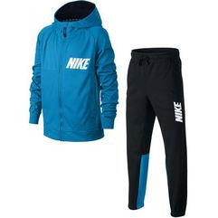 Nike dres b nsw trk suit poly equator blue black white s