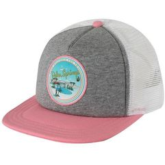 czapka z daszkiem lawn party trucker grey heather marki Vans