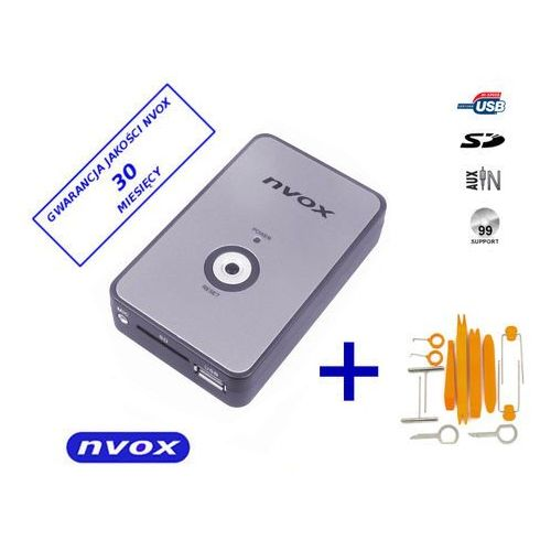 NVOX NV1080A VW 12PIN Zmieniarka cyfrowa emulator MP3 USB SD VW AUDI 12PIN