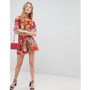 tropical print short - red, Love & other things