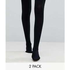 2 pack 120 denier tights - black marki Asos