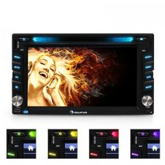 Auna MVD-480 Moniceiver DVD CD MP3 USB SD HD 6,2 Touchscree