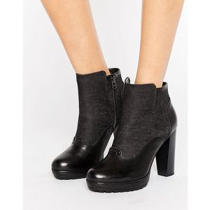 G-star guardian heeled ankle boots - black