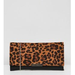 Accessorize Kelly leopard print clutch bag - Multi