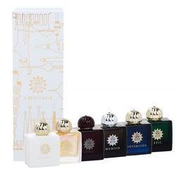 mini set modern collection zestaw 6 x7,5 ml edp lyric + epic + memoir + honour + interlude + fate dla kobiet marki Amouage